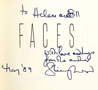 Faces [Inscribed to William and Helene Safire]