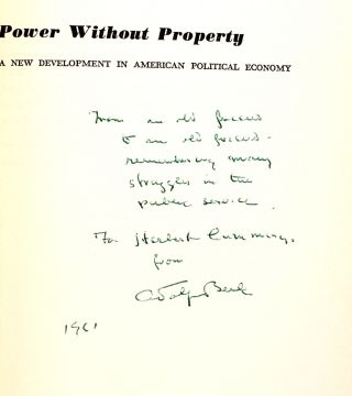 Power Without Property: A New Development in American Political Economy
