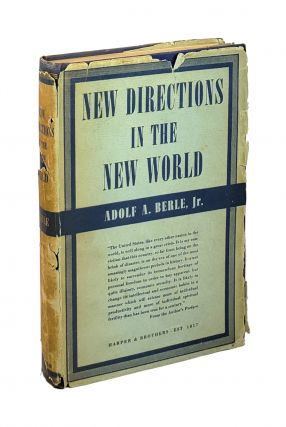 New Directions in the New World. Adolf A. Berle Jr