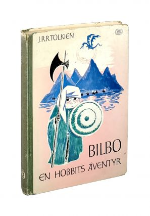 Bilbo: En Hobbits Aventyr [The Hobbit, Or There and Back Again]. J R. R. Tolkien, Britt G....