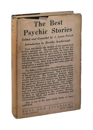 The Best Psychic Stories. J. Lewis French, Dorothy Scarborough, intro