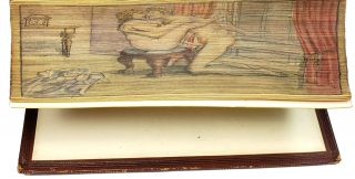 """The Poetical Works of John Milton, With Introductory Memoir Notes, Bibliography Etc. - The """"Albion"""" Edition [Erotic Fore-Edge Painting]"""