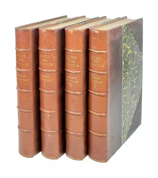 Alfred Lord Tennyson: A Memoir by His Son [Four Volumes]. Hallam Tennyson