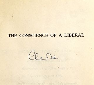 The Conscience of a Liberal: Selected Writings and Speeches