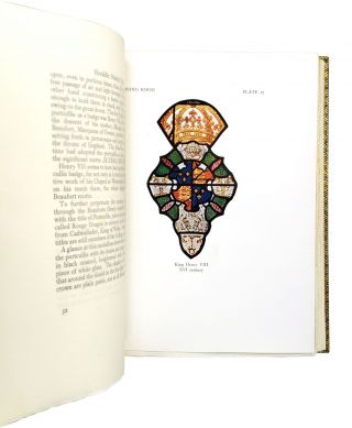 The Collection of Heraldic Stained Glass at Ronaele Manor, Elkins Park, Pennsylvania, the Residence of Mr. & Mrs. Fitz Eugene Dixon [Riviere & Son Binding]