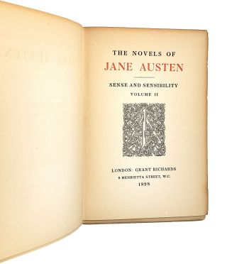 Sense and Sensibility [Two Volumes]