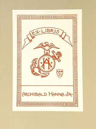 Notes of an Alchemist [with TLS to Archibald Hanna, Jr.]
