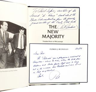The New Majority: President Nixon at Mid-passage [Signed with ALS to William Safire]