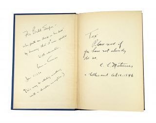Modern Man is Obsolete [Signed with TLS to William Safire; prev. Tex McCrary Copy]