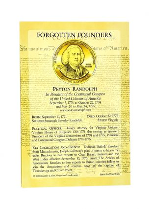 Forgotten Founders and Capitols. Stanley L. Klos