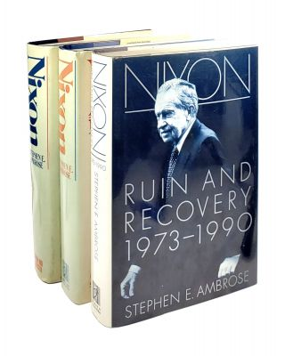 Nixon [Complete 3 Volume Set] - The Education of a Politician: 1913-1962; The Triumph of a...