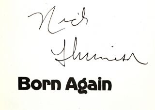 Born Again [Signed by Colson & Nick Thimmesch]