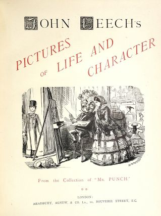 "John Leech's Pictures of Life & Character from the Collection of ""Mr. Punch"" (Three Volumes)"