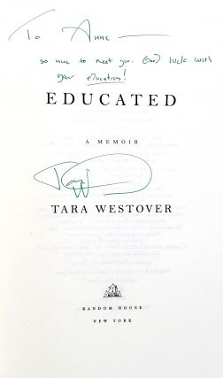 Educated: A Memoir [Signed]