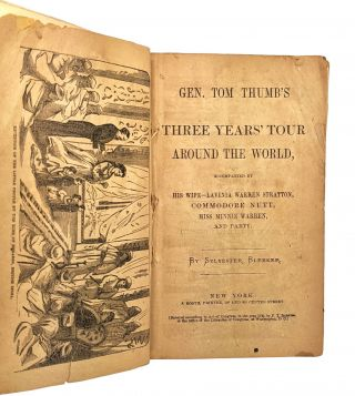 Gen. Tom Thumb's Three Years' Tour Around the World, Accompanied by His Wife -- Lavinia Warren Stratton, Commodore Nutt, Miss Minnie Warren, and Party