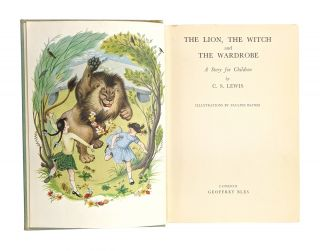 The Lion, the Witch and the Wardrobe; A Story for Children
