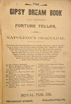 The Gipsy Dream Book and Complete Fortune Teller with Napoleon's Oraculum