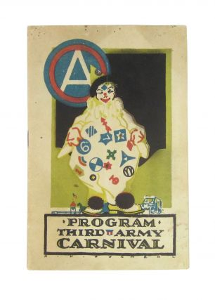 Programme Third Army Carnival. Coblenz, Germany: April Twenty-third to Twenty-seventh, Nineteen...
