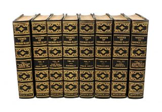 The Works of George Eliot (Eight Volumes). George Eliot, Mary Ann Evans