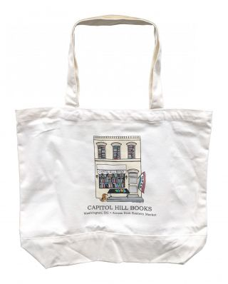 Capitol Hill Books Tote Bag [Large