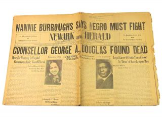 African American Legal Pioneer Archive, with Unpublished Short Story. George A. Douglas, Armita...