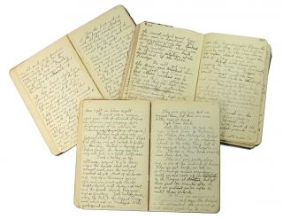 Autograph Grand Tour Diary in Three Journals