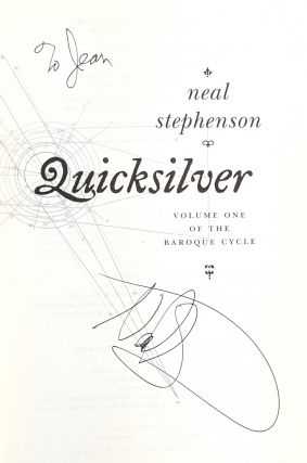 Quicksilver: Volume One of the Baroque Cycle [Signed]