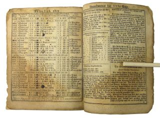 [Pamphlet] The High-German American Calendar, for the year 1829 after the blessed birth of our Lord and Savior Jesus Christ . . . Calculated with diligence for the Pennsylvania and Maryland regions, by Carl Friderich Egelmann, but can be used in the bordering states without noticeable error. Released for the seventy-fifth time.