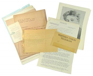 Archive and Eleanor Roosevelt Association Copies] Eleanor Roosevelt and Marjorie M. Whiteman...