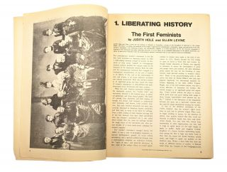 Notes From the Third Year: Women's Liberation