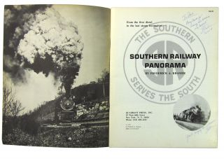 Southern Railway Panorama: From the First Diesel to the Last Steam Locomotive