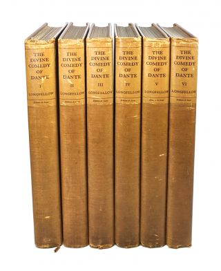 The Divine Comedy of Dante Alighieri [Six Volumes Complete]. Dante Alighieri, Henry Wadsworth...