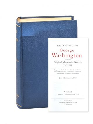 The Writings of George Washington from the Original Manuscript Sources - Volume 3: January 1770-...