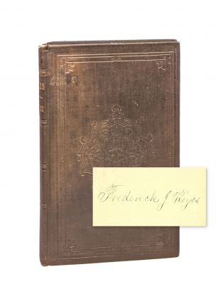 A Life-Poem, and Other Poems [Signed]. Frederick J. Keyes