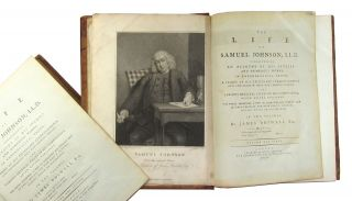 The Life of Samuel Johnson, LL.D., Comprehending an Account of His Studies and Numerous Works, in Chronological Order, a Series of His Epistolary Correspondence and Conversations with Many Eminent Persons, and Various Original Pieces of His Composition, Never Before Published, the Whole Exhibiting a View of Literature and Literary Men in Great-Britain, for Near Half a Century, During Which He Flourished (Two Volumes)