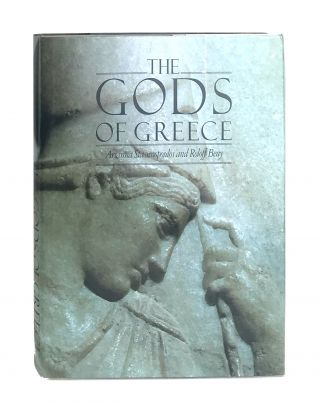 The Gods of Greece [Signed and with ALS to William Safire]. Arianna Stassinopoulos, Roloff Beny,...