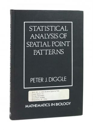 Statistical Analysis of Spatial Point Patterns. Peter J. Diggle