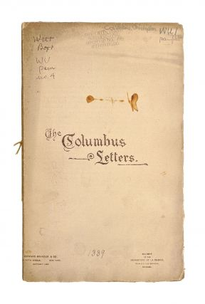 The Columbus Letters [Souvenir of the Monastery of La Rabida, 1893 Chicago World's Fair