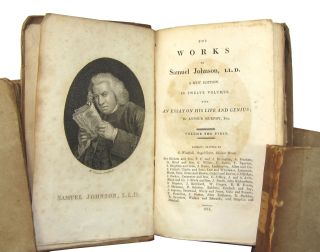 The Works of Samuel Johnson, LL.D., A New Edition in Twelve Volumes, with an Essay on His Life and Genius by Arthur Murphy, Esq. (Twelve Volumes)