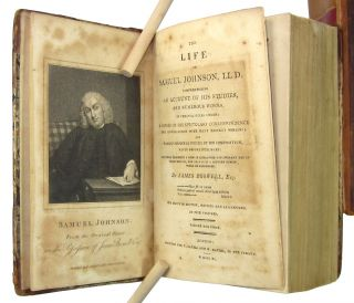 The Life of Samuel Johnson, LL.D., Comprehending an Account of His Studies, and Numerous Works in Chronological Order [etc.] (Five Volumes Bound as Two)