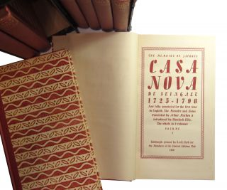 The Memoirs of Jacques Casanova de Seingalt 1725-1798: Now Fully Annotated for the First Time in English (8 Volumes in Paired Slipcases)