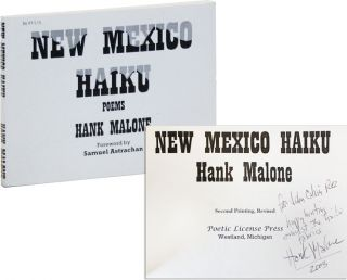 New Mexico Haiku [Inscribed and Signed]. Hank Malone, Samuel Astrachan, intro