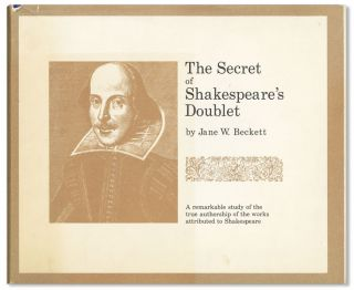 The Secret of Shakespeare's Doublet. Jane W. Beckett