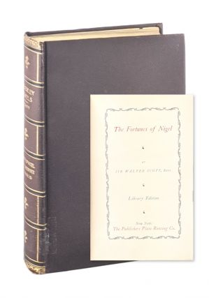 The Fortunes of Nigel [WITH] Count Robert of Paris. Sir Walter Scott