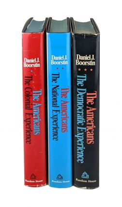 The Americans [Three Volume Set]: The Colonial Experience; The National Experience; The Democratic Experience