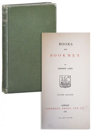 Books and Bookmen. Andrew Lang