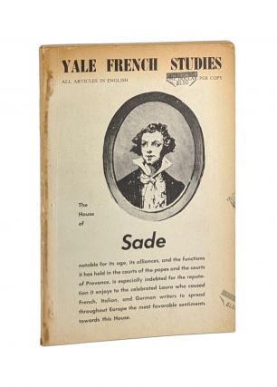 Yale French Studies No. 35, December, 1965: The House of Sade. Marquis de Sade