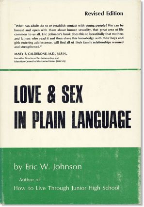 Love and Sex in Plain Language. Eric W. Johnson, Edward C. Smith, Joseph Stokes Jr, foreword