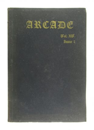 Arcade: A Muhlenberg College Publication, Vol. XV, no. 1, Fall, 1960. contr Frederick M. Busch,...