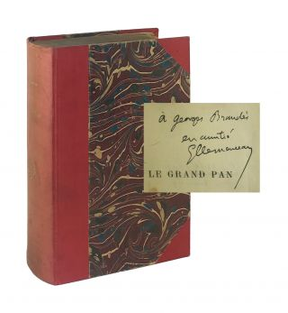 La Grand Pan [Limited Edition, Inscribed and Signed to Georg Brandes]. eorges, Clemenceau